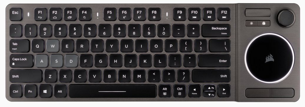 Corsair K83X Wireless Entertainment keyboard