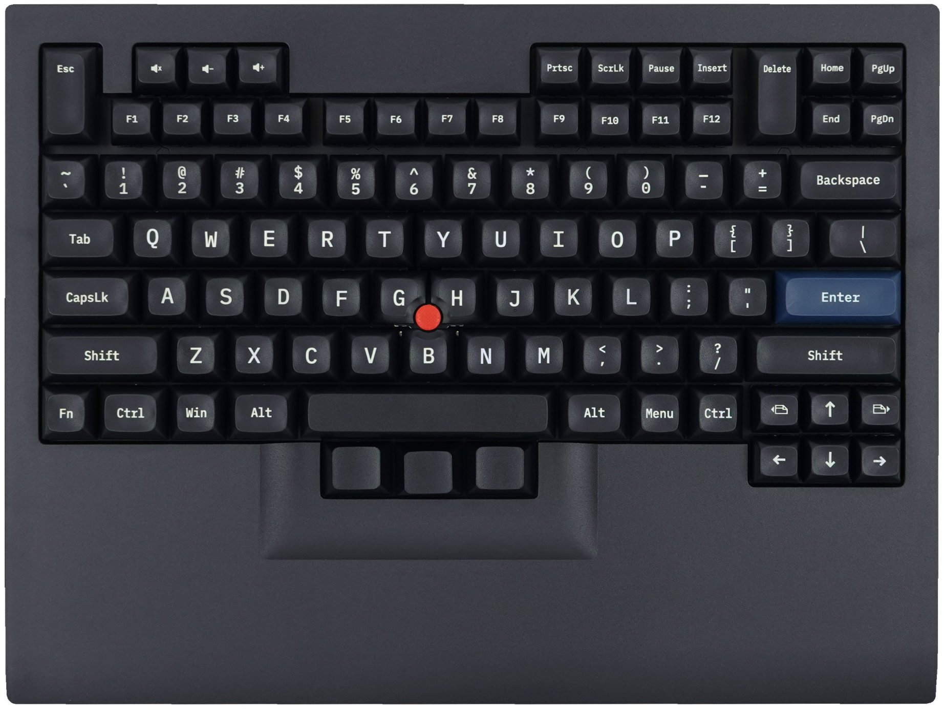 Tex Shinobi keyboard