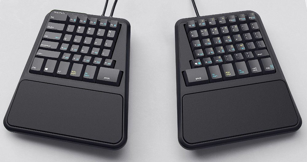 The Zergotech keyboard.